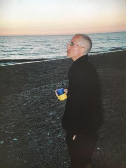 Steve at lake huron