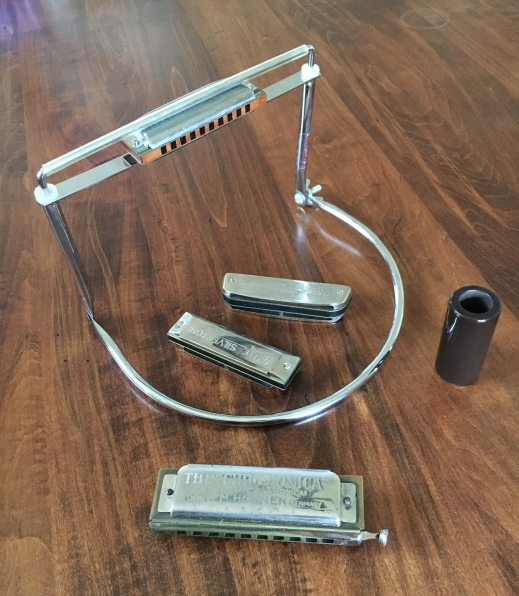 Steve's harmonicas